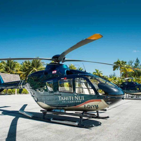 Base hélicoptère Bora Bora