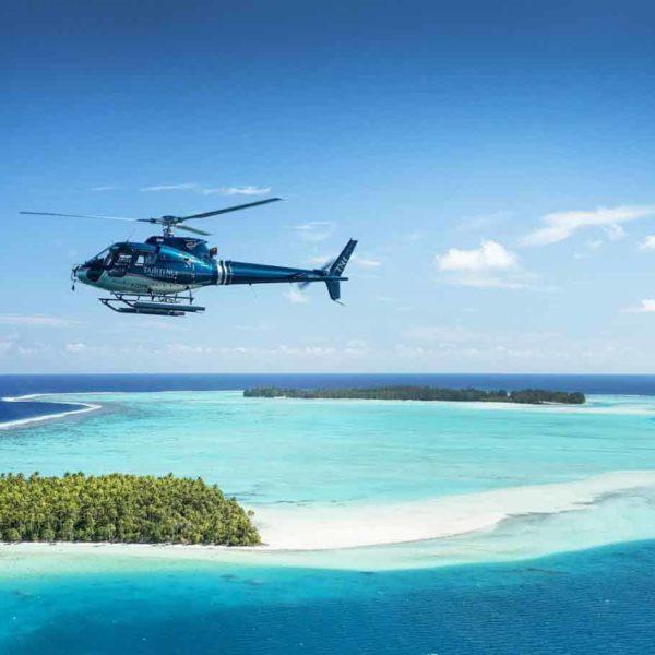 Hélicoptère vol bora bora