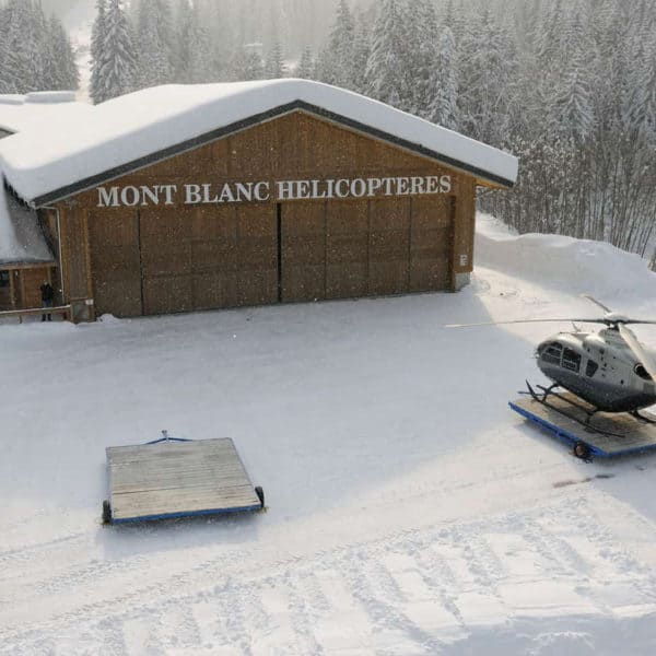 mont blanc helicoptere megeve