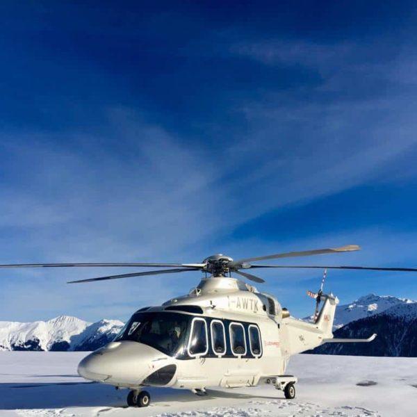 helicoptere transfert vip transfert privé alpe d'huez
