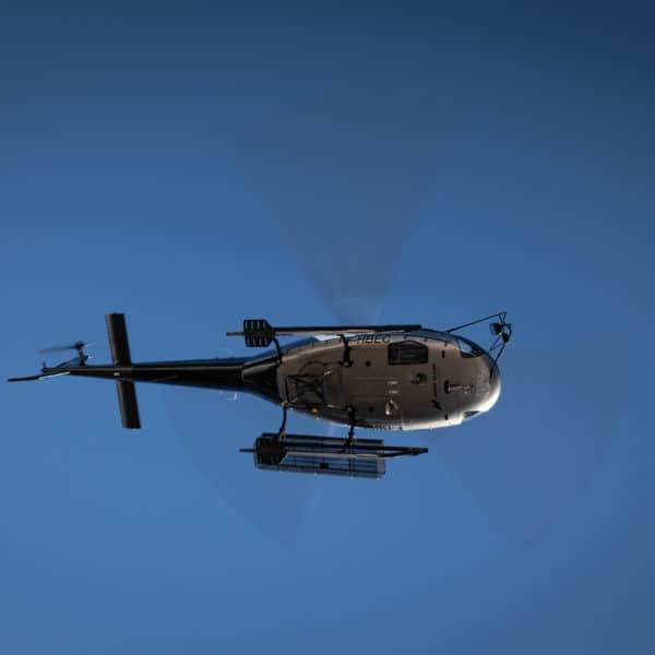 Hélicoptère ciel Annemasse