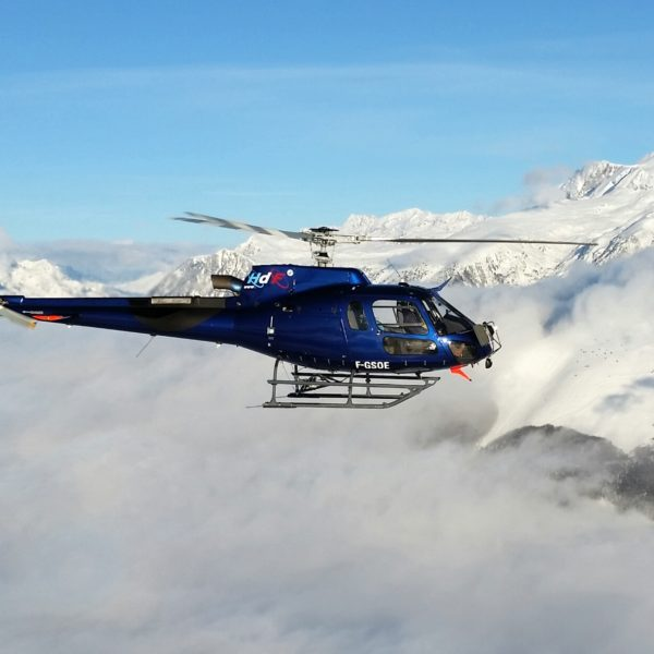 hélicoptère en vol gap