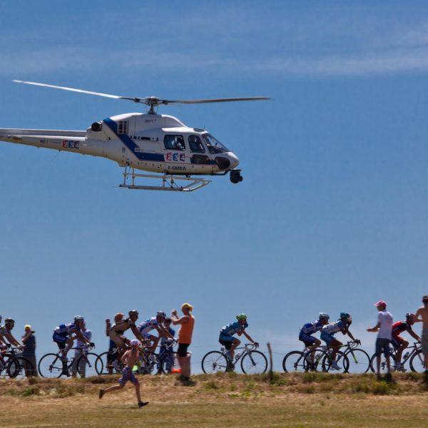 hélicoptère gap tour de france