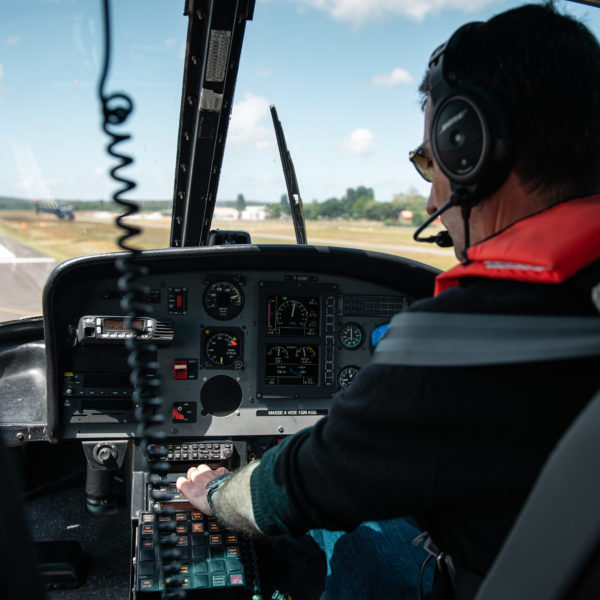 grenoble helicoptere pilote