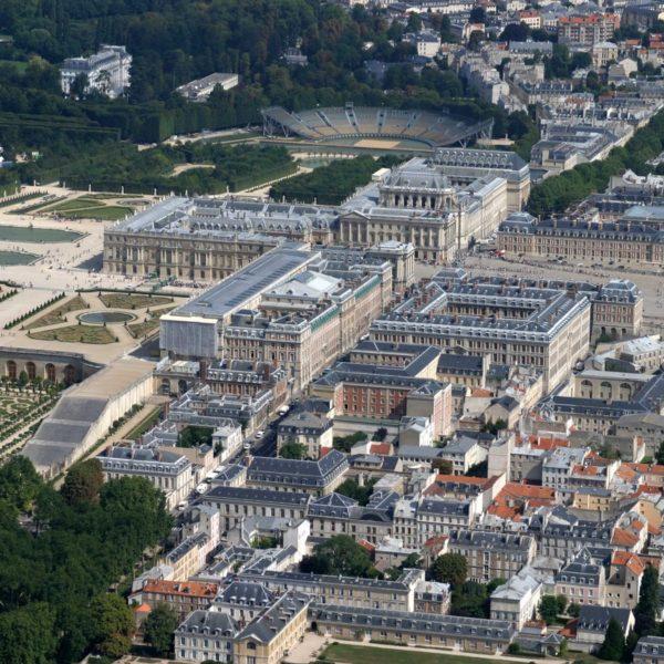 hélicoptère château de Versailles