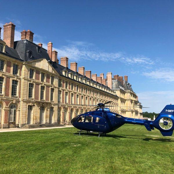 helicoptere paris chateaux