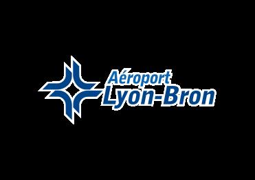 logo lyon bron aeroport