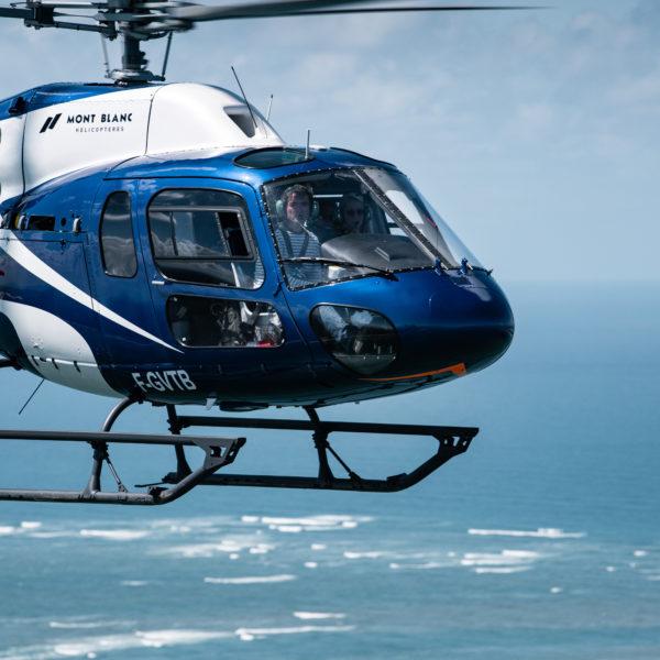 Mont Blanc Hélicoptère Oléron