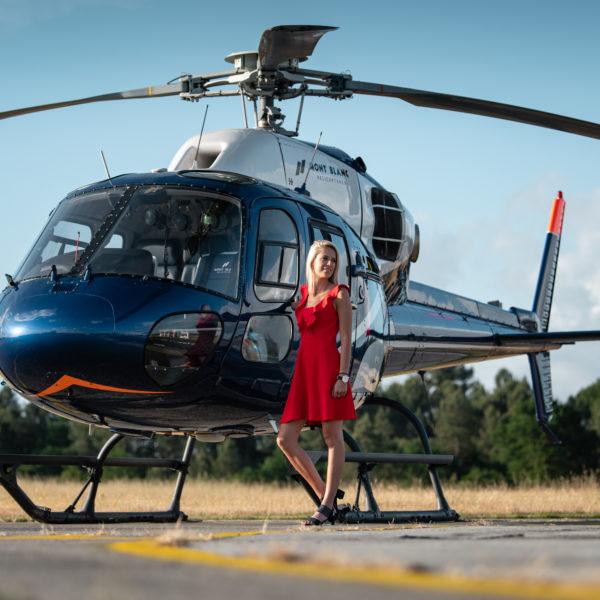 transfert hélicoptère Oéron